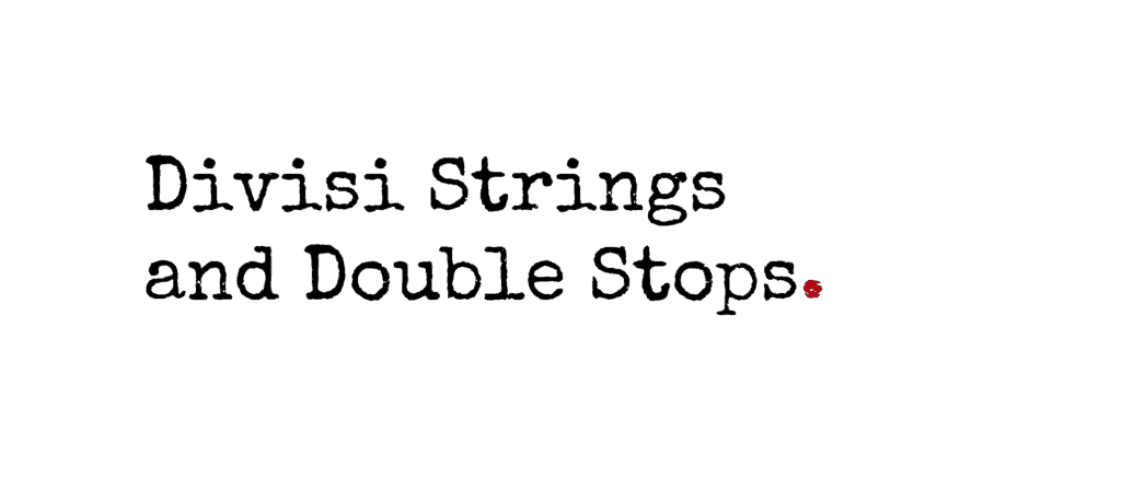 divisi strings and double stops